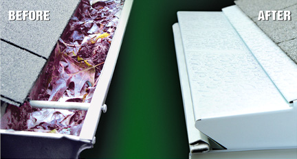 Our popular LeafProof Gutters
